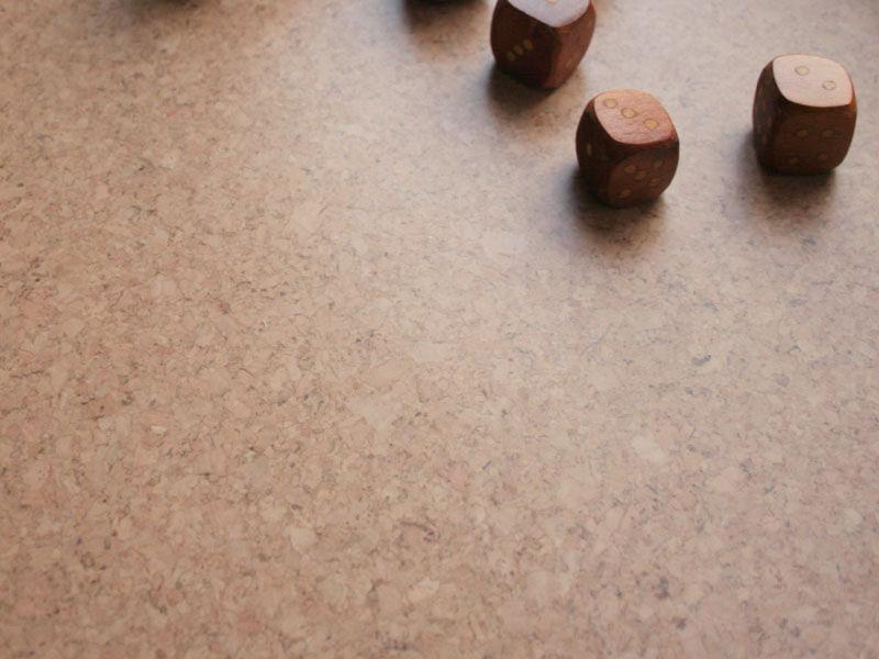 "Floating Cork Floor ""Sand"""