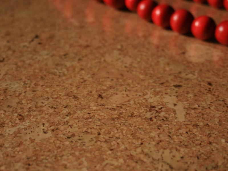 "Floating Cork Floor ""Stone"""