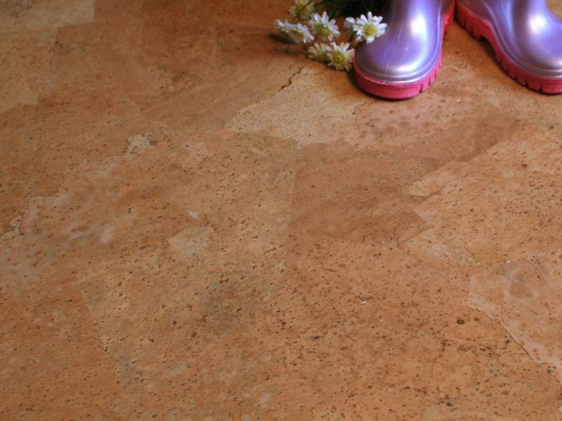 """Floating Cork Floor """"Trend"""""""