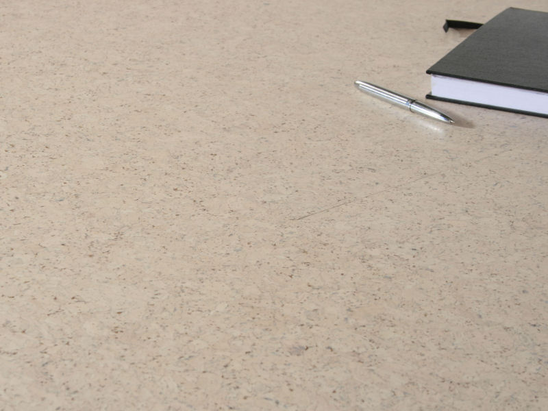 "Floating Cork Floor ""Classic White"""