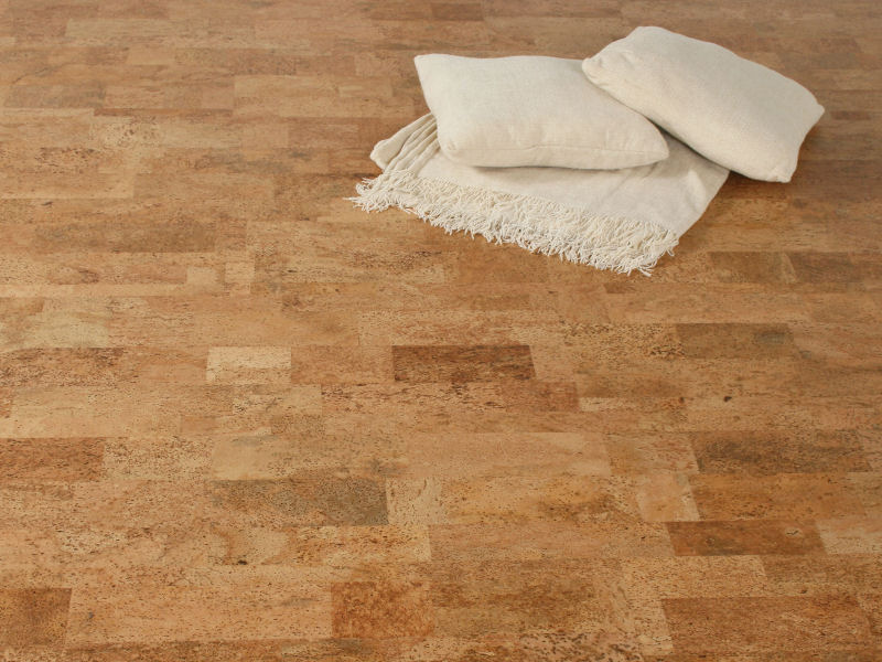 "Floating Cork Floor ""Element Rustic"""